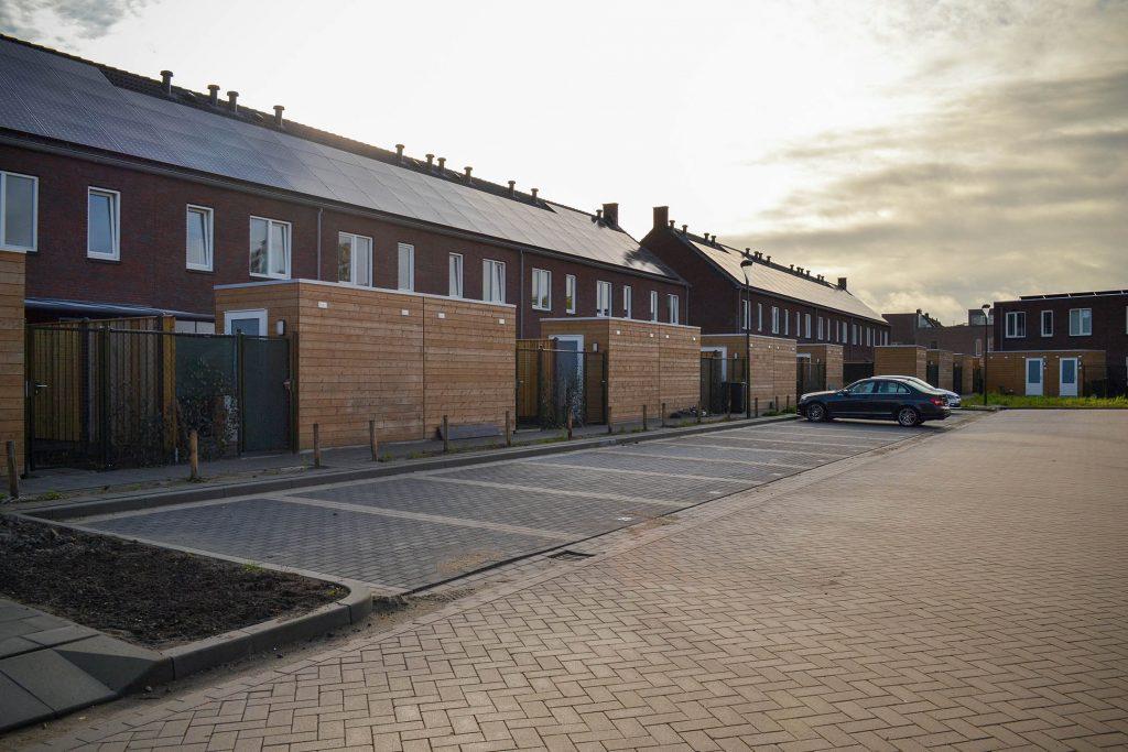 Hugenpothstraat Boxtel - Parkeerplaats