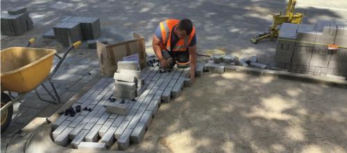 Opperman stratenmaker (standplaats Leerdam)