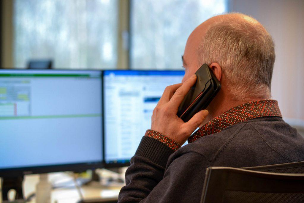 Roland Vos kantoor telefoon