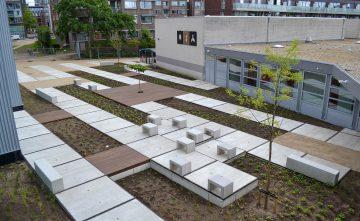 Renovatie schoolterrein en binnentuin