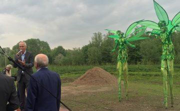 Parkbos de Haar officieel geopend