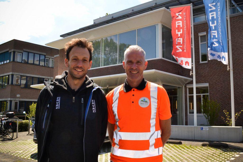 Stephan de Laat van Zayaz en Raymond van den Heuvel van T&G