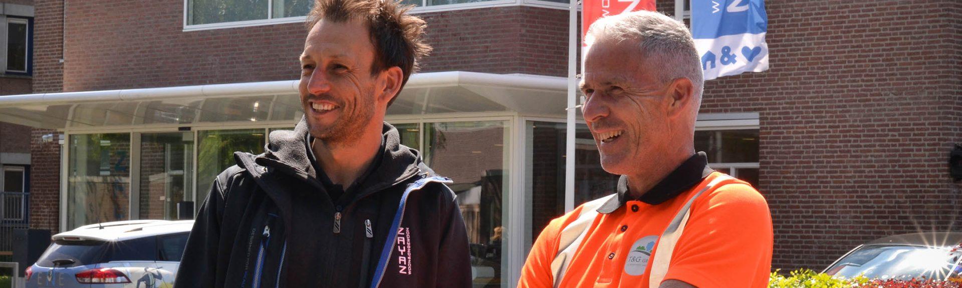 Stephan de Laat van Zayaz en Raymond van den Heuvel van T&G 2