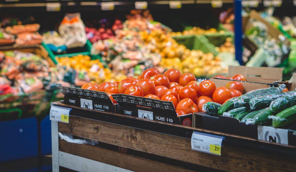 Supermarkt binnen - T&G Groep