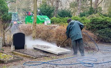 Graven reinigen in Den Haag